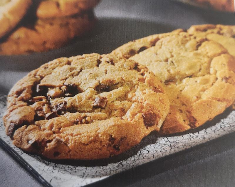Maxi cookie  aux pépites de chocolat au lait