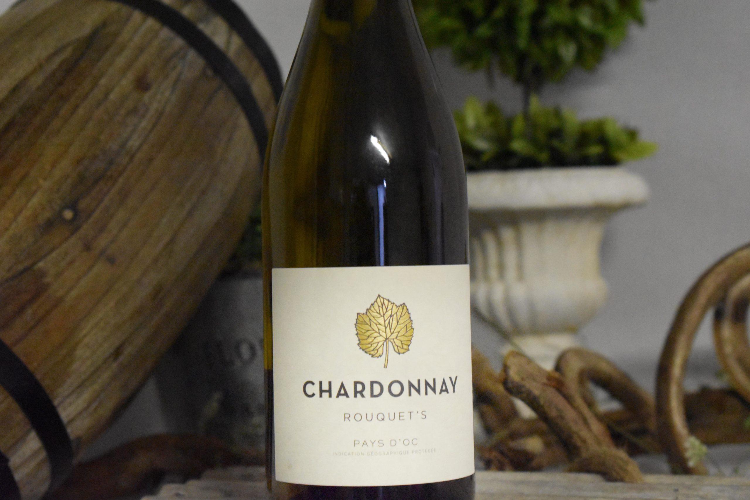 Vin blanc Chardonnay Rouquet's