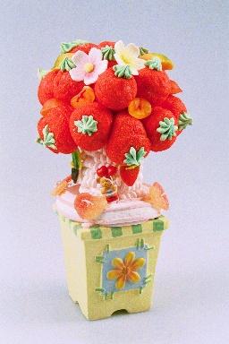 Gâteau de bonbons arbre