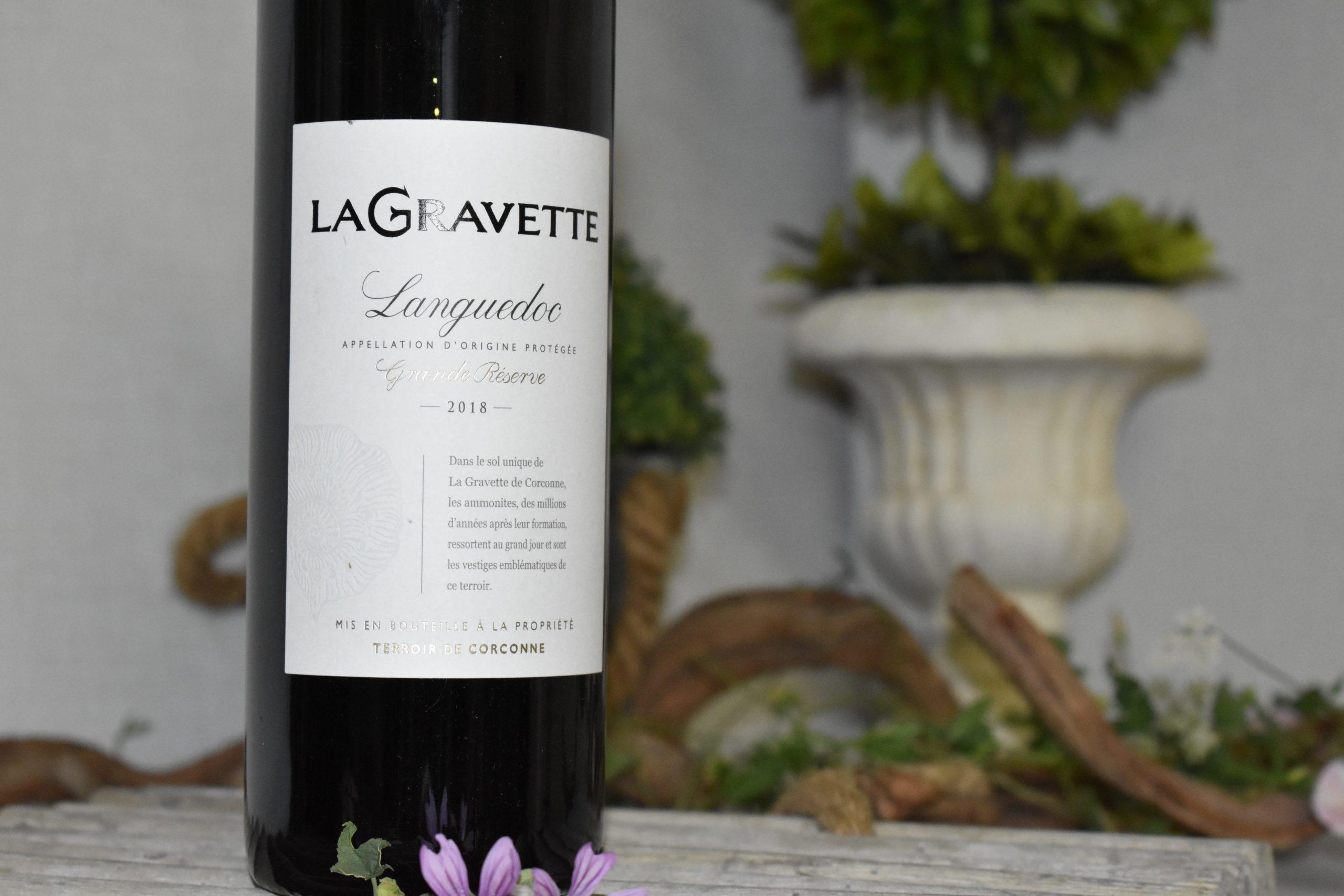 Vin rouge La Gravette de Corconne