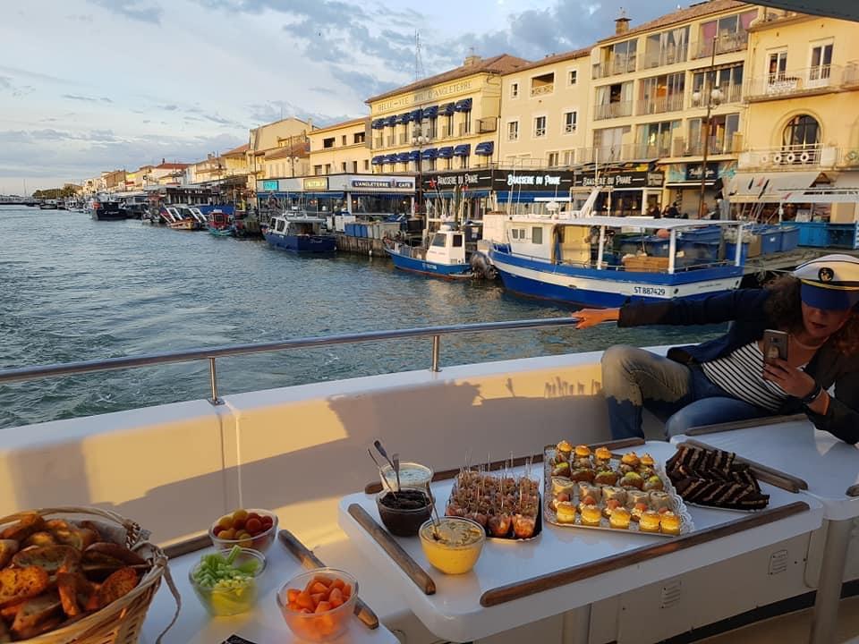 cocktail sur le port